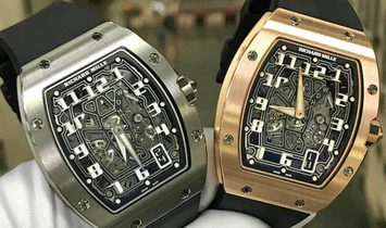 Richard Mille [NEW] RM 67-01 Rose Gold Automatic Extra Flat Mens Watch