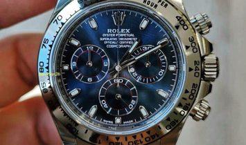 Rolex [NEW][香港行貨] Daytona 116509 Blue Dial White Gold Automatic Watch
