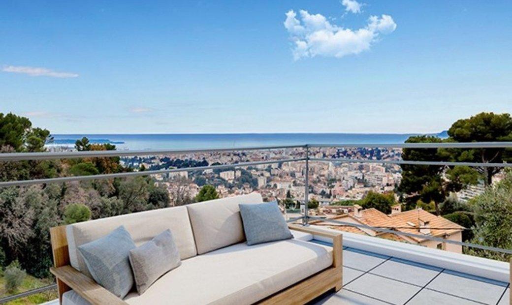 Dpt Alpes Maritimes (06), for sale LE CANNET apartment T4 of 98,59 m²