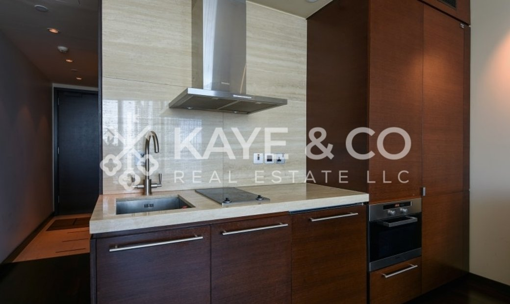 Vacant Spacious Studio Apartment with DIFC View