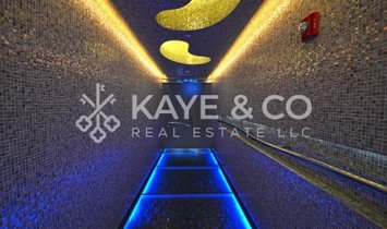 Furnished 1BR|High Floor|Fountain View|Rare Layout