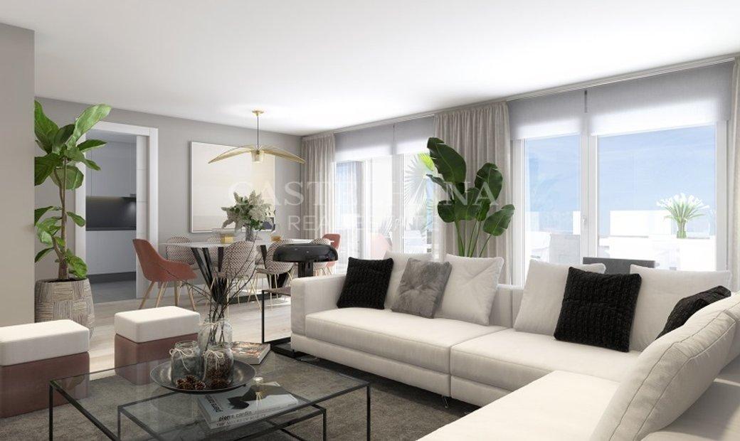 4-Bedroom apartment with balcony
