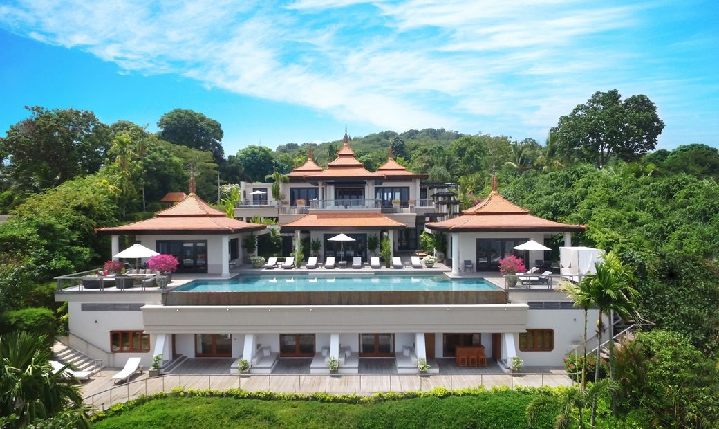 Luxurious 5 star boutique villa wrapped in a tropical forest and exotic gardens
