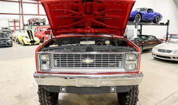 1985 Chevrolet K-10 Scottsdale