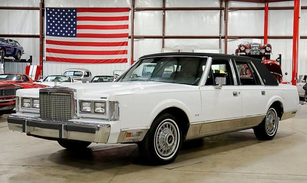 1987 Lincoln Town Car Signature