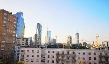 Prestigious penthouse Milan Repubblica