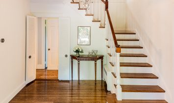 Classic Center Entrance Colonial