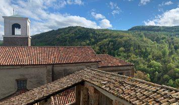 Castle near Alba, Piedmont, Italy