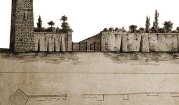 Como via Volta entire historical building