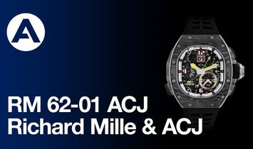 Richard Mille [NEW] RM 62-01 Tourbillon Vibrating Alarm Airbus Corporate Jets