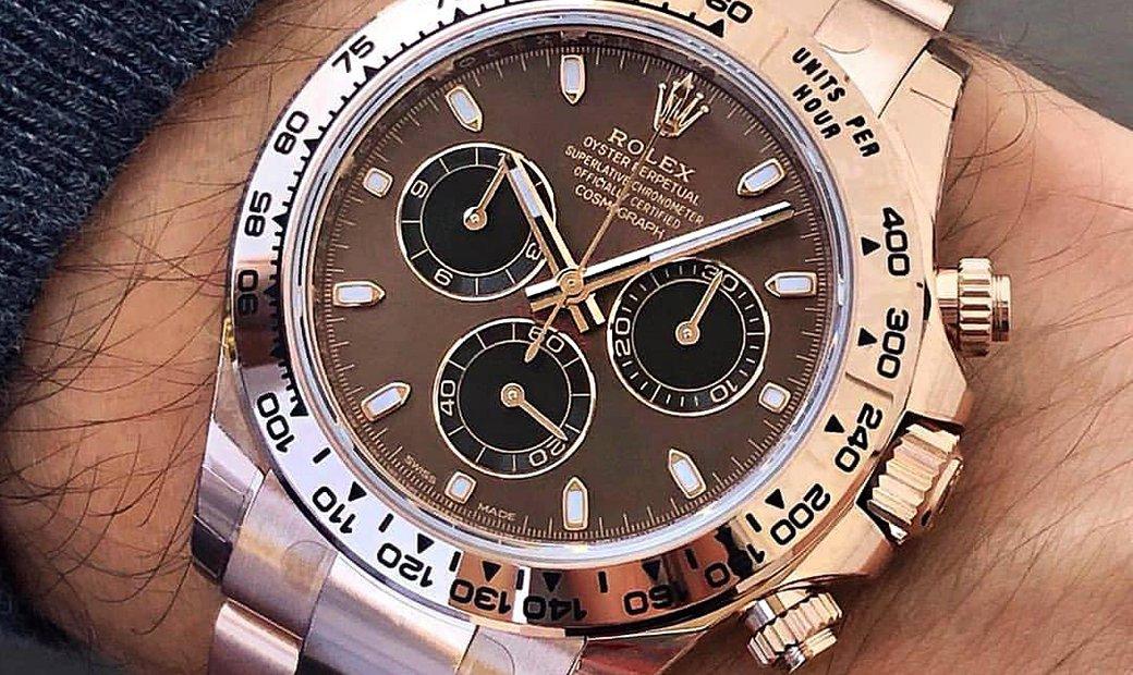 Rolex [2019 NEW MODEL] Daytona 116505 Chocolate Dial Rose Gold Watch (Retail:HK$292,500)