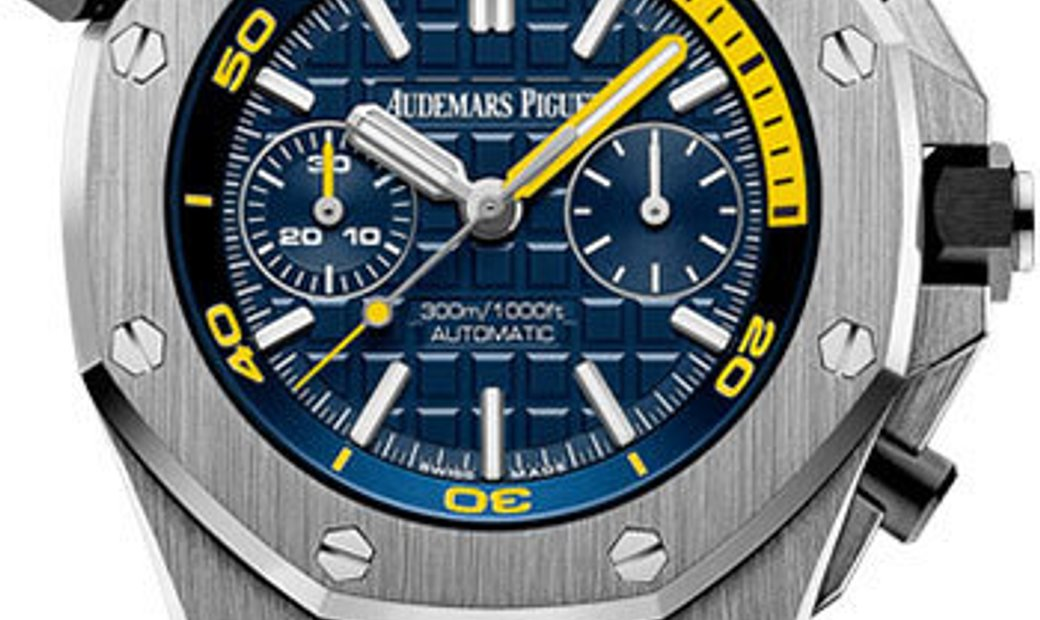 AUDEMARS PIGUET Royal Oak Offshore Diver Blue Dial Chronograph 26703ST