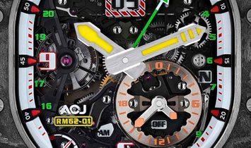 Richard Mille [NEW] RM 62-01 Tourbillon Vibrating Alarm Airbus Corporate Jets