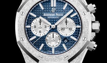 Audemars Piguet Royal Oak Frosted Gold Blue Chronograph 26331BC.GG.1224BC.02
