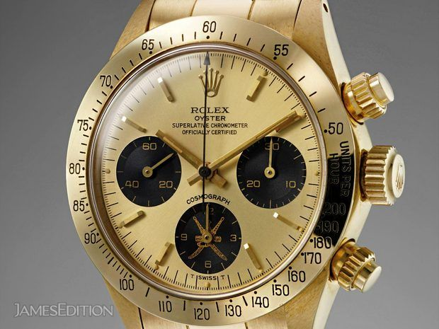 "Rolex Cosmograph Daytona 6265 ""Gold Khanjar"" Middle-East ... (10670269)"