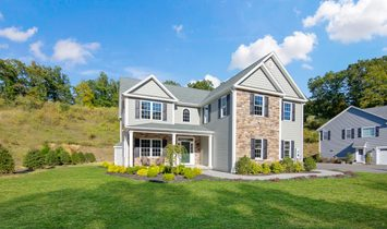 Stunning New Custom Colonial Home