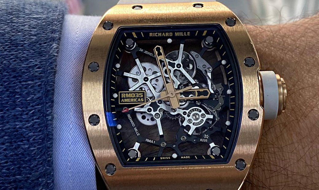 Richard Mille [LIMITED 50 PIECE][限量50支] RM 035 Gold Toro