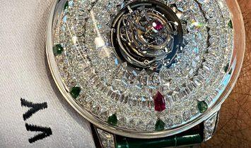 Jacob & Co. 捷克豹 Supernova Tourbillon Ruby & Emerald SN800.30.BD.AA.A (Retail:HK$11,440,000)