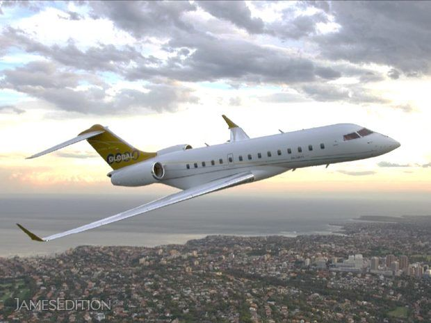 AMAZING Global 5000 Vision - Like New Inside & Out (10674243)