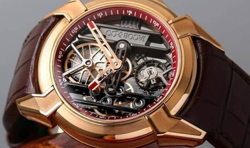 Jacob & Co. 捷克豹 [NEW] EPIC X Rose Gold EX100.43.PS.RW.A (Retail:HK$372,000)