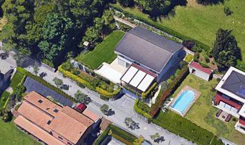 Breganzona Lugano villa overlooking lake with pool
