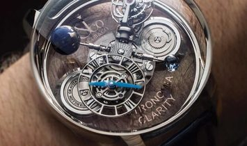 Jacob & Co. 捷克豹 Astronomia Clarity White Gold Tourbillon AT120.30.AD.SB.A (Retail:HK$4,752,000)