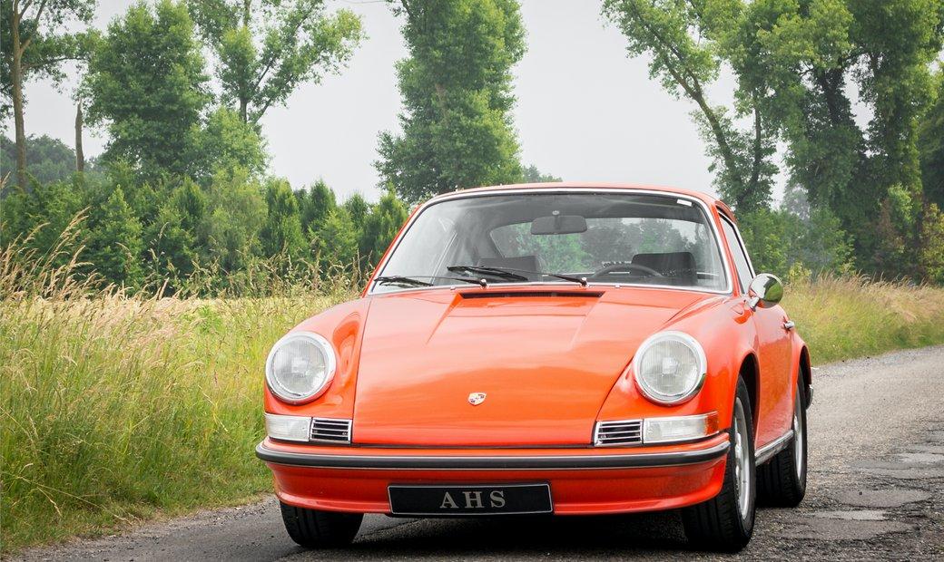 Porsche 911 2.4 S Coupé Ölklappe