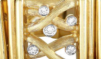 Henry Dunay Henry Dunay 18K Yellow Gold Diamond Bracelet