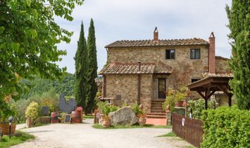 Ancient Village In The Heart Of Chianti
