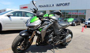 2014Kawasaki Z1000 BZF Green   SOLD