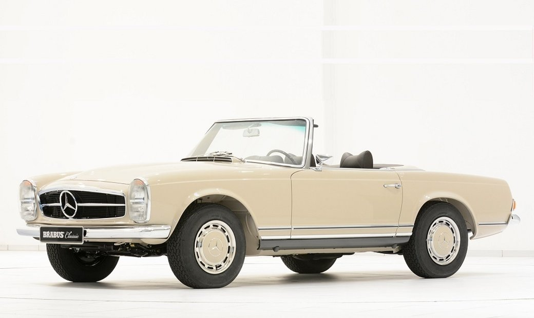 1970 Mercedes-Benz 280SL Pagoda – Restored by BRABUS Classic