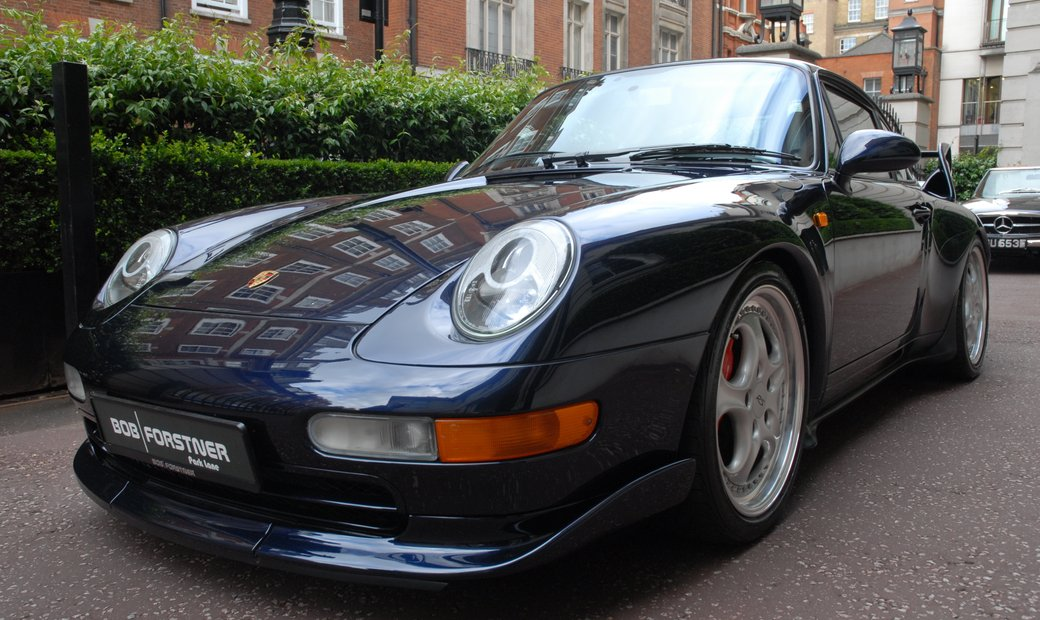 1995 993 Carrera RS with Club Sport Fixed Spoiler and Matter Roll Cage