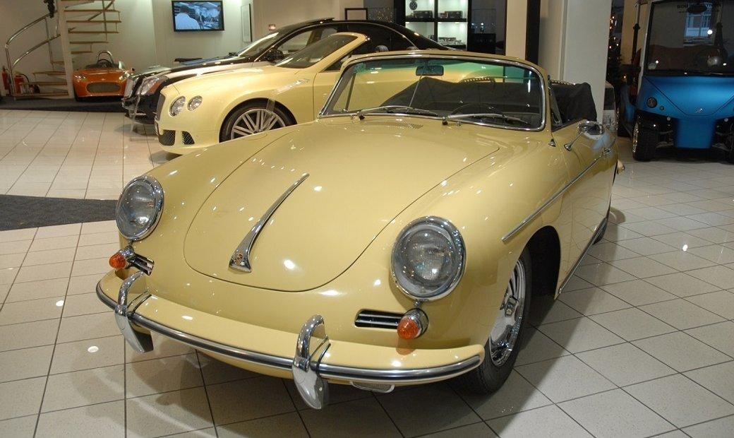1963 Porsche 356B T6 Cabriolet – Original unrestored