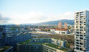 Bijou Over The Rooftops Of Zurich