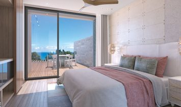 WONDERFUL WATERFRONT APPARTMENTS WITH PANORAMIC SEA VIEW IN TAMARIN - MAURITIUS
