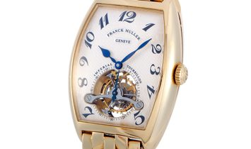 Franck Muller Franck Muller Cintrée Curvex Imperial Tourbillon Limited Edition Watch 5852