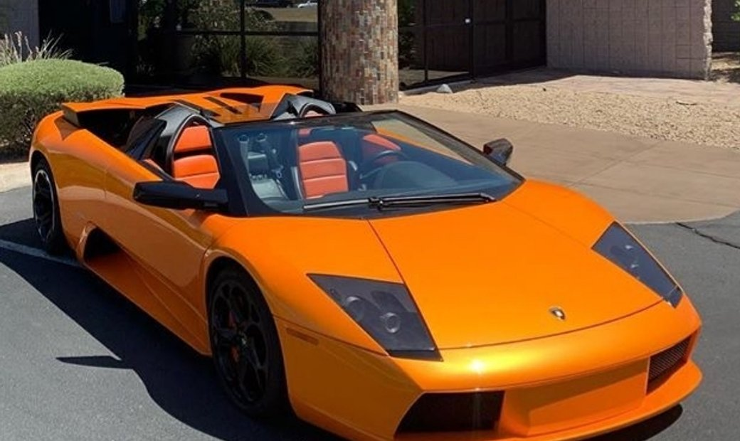 2006 Lamborghini Murcielago Roadster with only 3475 miles!