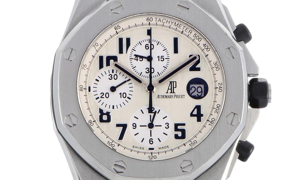 Audemars Piguet Audemars Piguet Royal Oak Offshore Chronograph Safari Model Watch 26170ST.OO.D091CR.