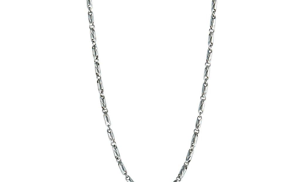 Bvlgari Bvlgari 18K White Gold Chain Choker Necklace