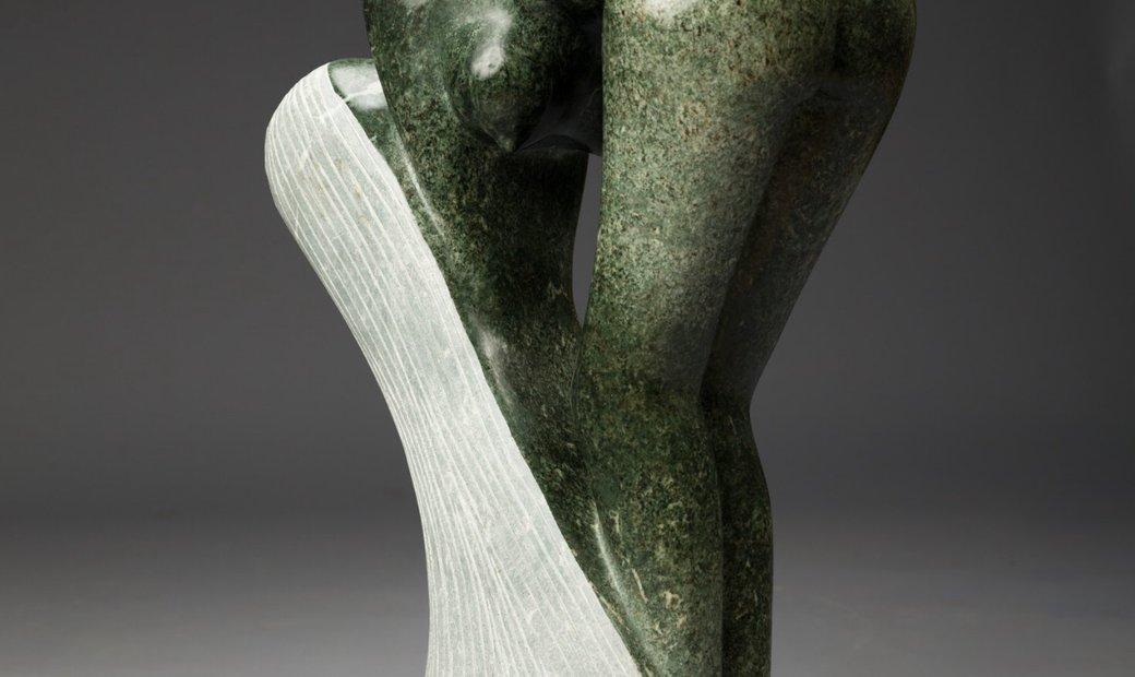 Bathing Shebba Sculpture
