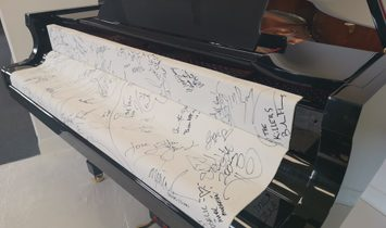 Extremely Rare Autographed Piano - Signed by Michael Jackson, Elton John + 38 more artists!