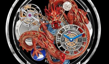 Jacob & Co. 捷克豹 [NEW] Astronomia Flawless Imperial Dragon Tourbillon AT125.80.DR.UA.B
