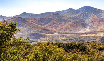 Deer Valley And Jordanelle Reservoir Views, Backs To Open Space In Hideout