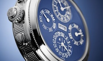 Patek Philippe [NEW MODEL] Grand Complications Grandmaster Chime Blue Dial 6300G