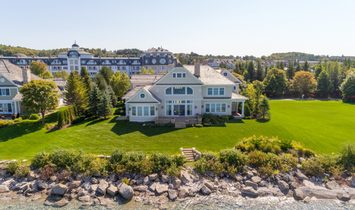 Grand And Inviting Waterfront Home