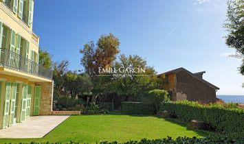 For sale, Menton, family house with  stunning sea view.