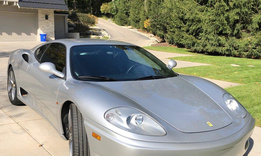 Ferrari 360 Modena-sunroof