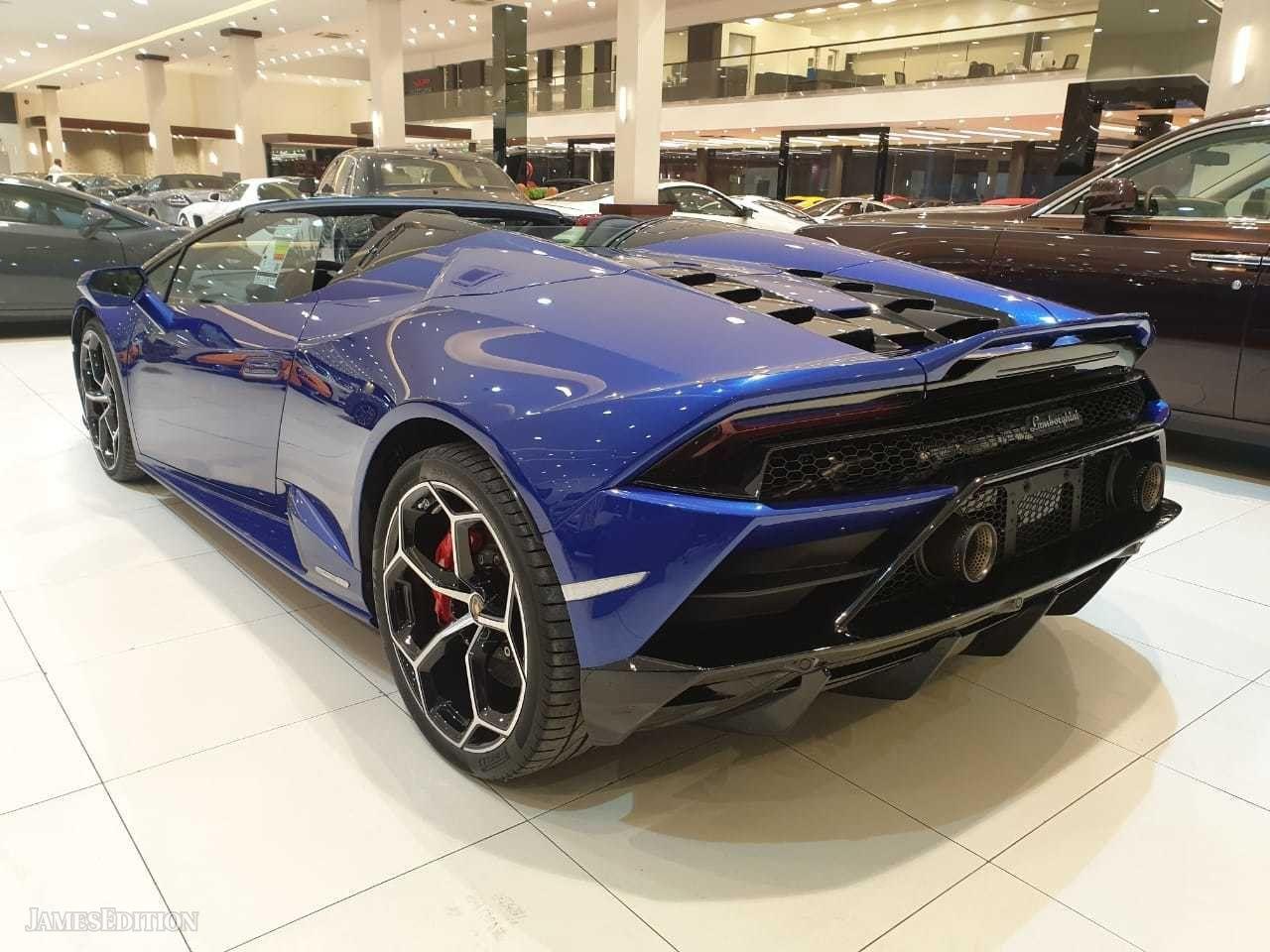 Lamborghini Huracan Evo Spider 2020