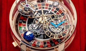 Jacob & Co. 捷克豹 [NEW] Astronomia Casino AT160.40.AA.AA.A (Retail:HK$5,456,000)