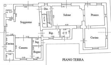 Farmstead / Courtyard for sale in Todi